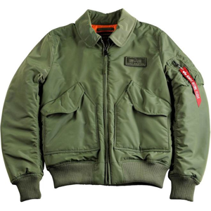 Alpha Industries Bunda  CWU VF TT šalvějová M