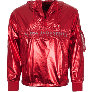 Alpha Industries Bunda  Glossy Anorak speed red XXL
