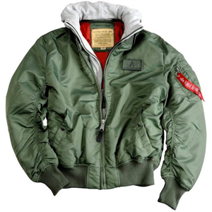 Alpha Industries Bunda  MA-1 D-Tec šalvějová XL