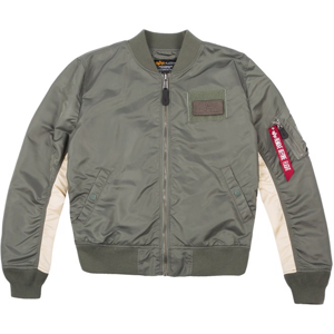 Alpha Industries Bunda  MA-1 TT Custom zelená vintage L