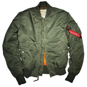 Alpha Industries Bunda  MA-1 VF 59 šalvějová M