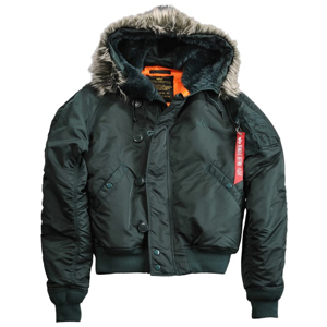 Alpha Industries Bunda  N2B VF 59 petrolejová tmavá L