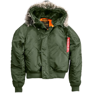 Alpha Industries Bunda  N2B VF 59 šalvějová M