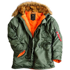 Alpha Industries Bunda  N3B VF 59 šalvějová XL