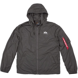 Alpha Industries Bunda  Windbreaker greyblack XXL