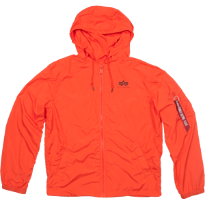 Alpha Industries Bunda  Windbreaker w.o. Back Print flame orange XXL