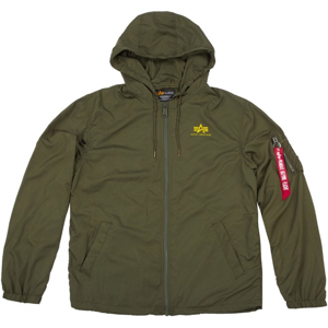 Alpha Industries Bunda  Windbreaker w.o. Back Print olivová tmavá S