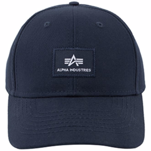 Alpha Industries Čepice Baseball VLC Cap rep. modrá