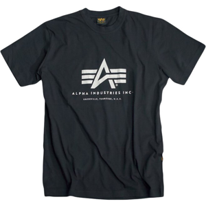 Alpha Industries Tričko  Basic T-Shirt černé L