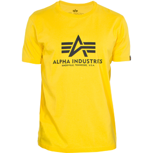 Alpha Industries Tričko  Basic T-Shirt empire yellow XL