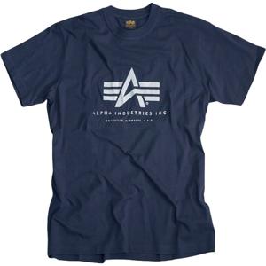 Alpha Industries Tričko  Basic T-Shirt neon yellow XXL