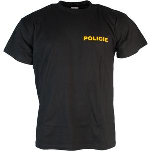 AS Print Tričko POLICIE černé M