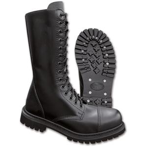 Brandit Boty Phantom Boots 14-dírkové černé 43 [09]