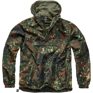 Brandit Bunda Windbreaker Summer flecktarn M