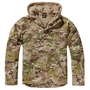 Brandit Bunda Windbreaker tactical camo M
