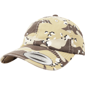 Brandit Čepice Baseball Cap Low Profile Camo Washed desert 6 barev