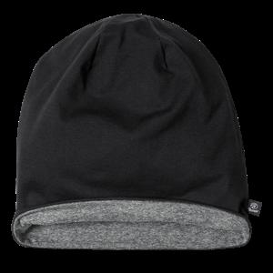 Brandit Čepice Beanie Jersey Bicolor černá | antracitová XL/XXL