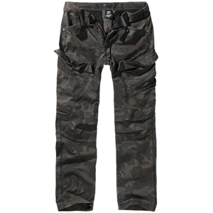 Brandit Kalhoty Adven Trouser Slim darkcamo XL