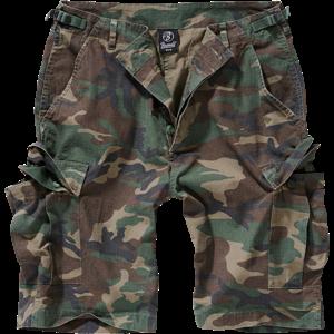 Brandit Kalhoty krátké BDU Ripstop Shorts woodland 6XL