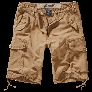 Brandit Kalhoty krátké Hudson RipStop Shorts camel S