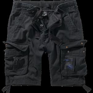 Brandit Kalhoty krátké Pure Vintage Shorts černé S