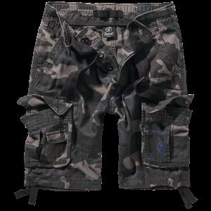 Brandit Kalhoty krátké Pure Vintage Shorts darkcamo 3XL