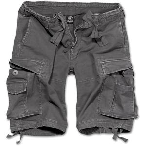 Brandit Kalhoty krátké Vintage Classic Shorts antracitové M