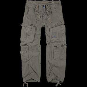 Brandit Kalhoty Pure Vintage Trouser olivové 7XL