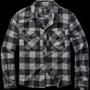 Brandit Košile Check Shirt černá | antracitová 5XL