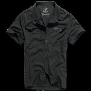 Brandit Košile Roadstar Shirt 1/2 černá XXL