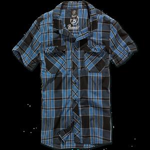 Brandit Košile Roadstar Shirt 1/2 indigo M