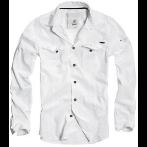 Brandit Košile SlimFit Shirt bílá S