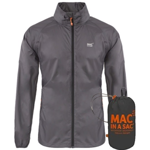 Bunda do deště Mac In A Sac charcoal 3XL