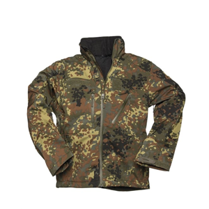 Bunda Softshell SCU 14 flecktarn XL