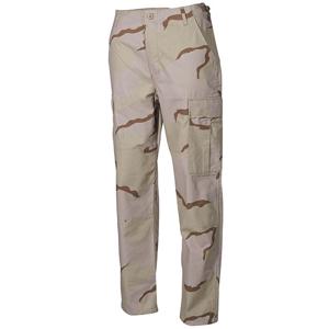 Kalhoty BDU-RipStop desert 3 barvy XL