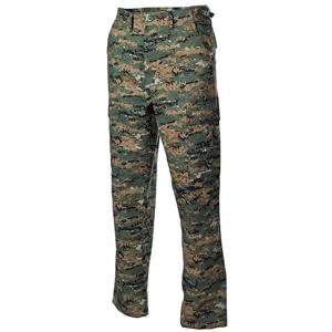 Kalhoty BDU-RipStop woodland digital XXL