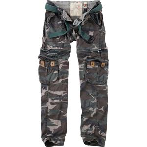 Kalhoty dámské Ladies Trekking Premium woodland opraná 34