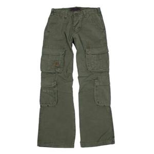 Kalhoty Defense zelené XL