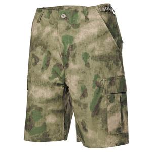 Kalhoty krátké BDU RipStop HDT camo FG M