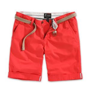Kalhoty krátké Xylontum Chino Shorts červené M
