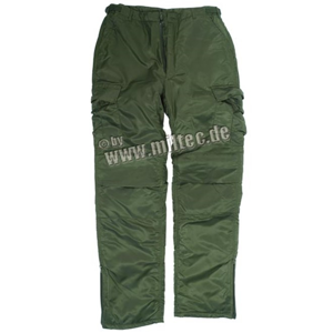 Kalhoty STURM Thermohose MA1 zelené L