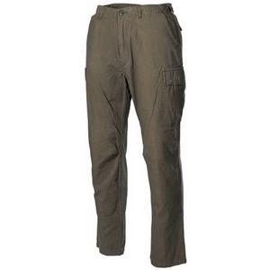 Kalhoty Vietnam RipStop-Washed zelené L
