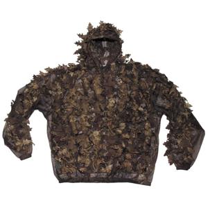 Oděv maskovací Hejkal Leaves lovecká camo hnědá M/L