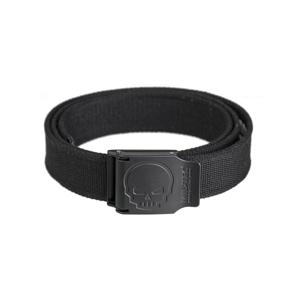 Opasek kalhotový SKULL 40 mm černý