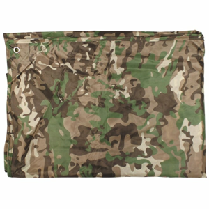 Plachta krycí TARP 4x5 m operation camo