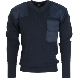 Pulovr BW Commando modrý tm. (navy) 60