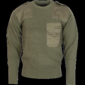 Pulovr BW Commando zelený 56