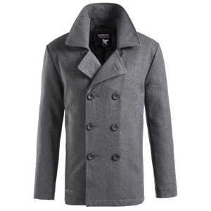 Surplus Kabát Pea Coat antracitový L