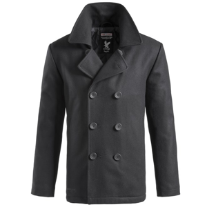 Surplus Kabát Pea Coat černý XXL