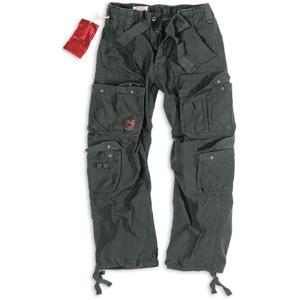 Surplus Kalhoty Airborne Vintage černé L